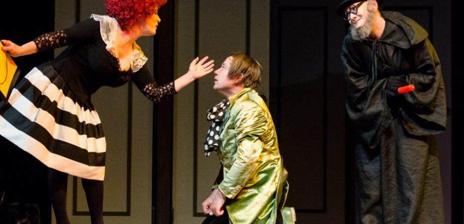 Invitație la teatru – trei gemeni venețieni, luni 8 mai orele 18