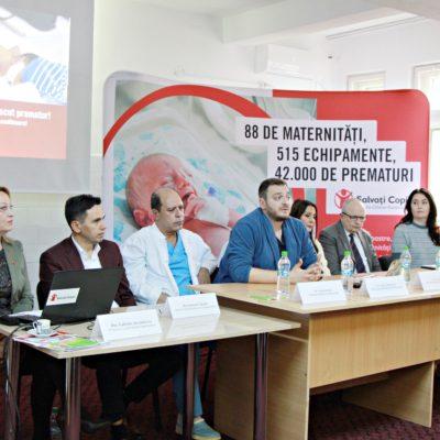 Salvați Copiii România dotează secțiile de neonatologie și obstetrică-ginecologie ale Spitalului Județean de Urgență Călărași cu aparatură modernă