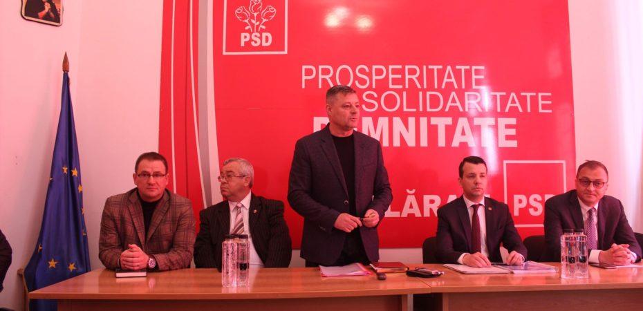 Organizația județeană PSD Călărași își prezintă proiectele pentru dezvoltarea localităților. VIDEO