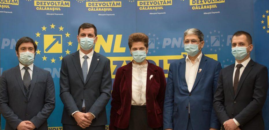 Conferința presă/Emil Dumitru/ PNL Călărași: Singura soluție prin care România poate să se transforme sunt investițiile. VIDEO