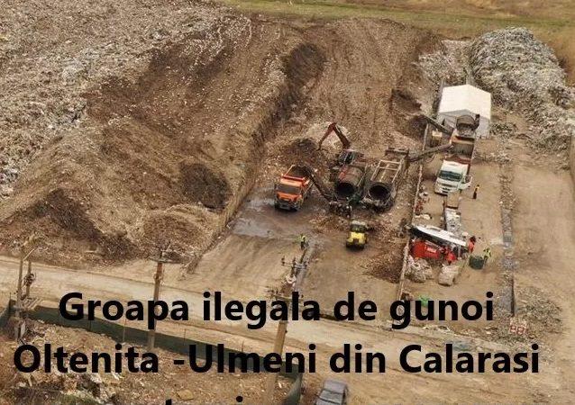 Senatorul PMP Lucian Iliescu despre dezastrul ecologic de la groapa de gunoi Ulmeni. SCRISOARE DESCHISĂ