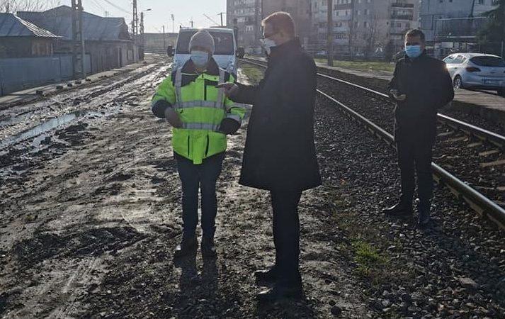 Primăria Călărași intervine pe str. Locomotivei, acolo unde redacția noastră a semnalat deficiențe de peste 4 ani…