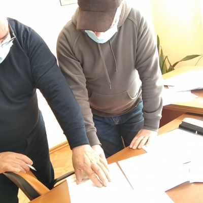 Com.Dorobanțu. Primarul Stoica Vasile construiește un Cămin Cultural și o Bază sportivă…VIDEO