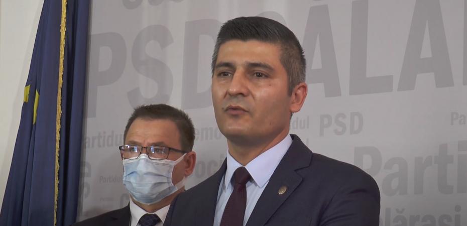 Deputat  Bîrcă Constantin/ PSD Călărași: Vrem un premier și un guvern PSD. Noi am demonstrat seriozitate politică. VIDEO