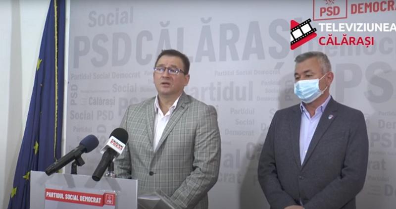 Primarul Dulce continuă lucrările pentru Mircea Vodă. VIDEO