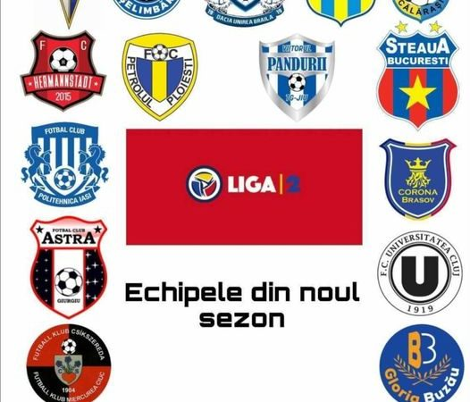 Dunărea Călărași prima clasată în Liga 2 ediția 2021/2022