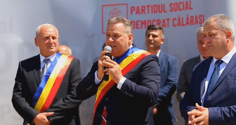 Vasile Iliuță și primarii PSD Călărași au lansat candidatura lui Bălan Florin la Primăria Frumușani…VIDEO
