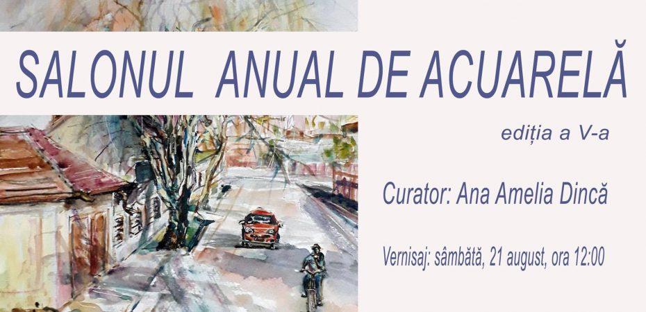 CJ & Muzeul Dunării de Jos Călărași vă invită la deschiderea SALONULUI DE ACUARELĂ