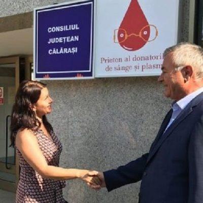 Ion Samoilă/ PSD Călărași susține programul de donare a sângelui…